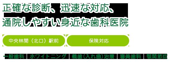 中央林間(北口)駅前・保険対応